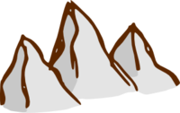 Mountain - Rpg Map Elements 2