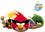 Angry Bird Space PSD