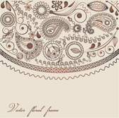 Ham Floral Pattern Abstract Design (Vector)
