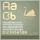 Origami Creative Letters 03