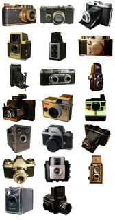 Photo Objects: 20 Vintage Cameras