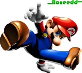 Super Mario - Break Dancing (1091x955) PSD