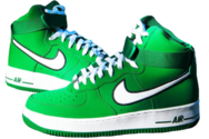 Nike Airforce High - Pine Green PSD