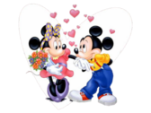 Mickey & Minnie Mouse PSD