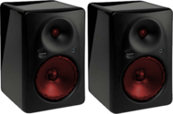 Mackie - Red Moving Speakers PSD