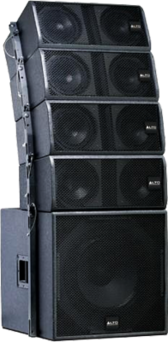 Black ALTO Concert Stage Speakers PSD