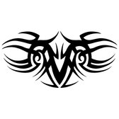 TRIBAL STYLE ABSTRACT VECTOR SHAPE.eps