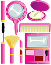 Women make-up tools for