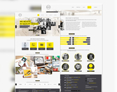 Skokov Business PSD Template