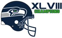 Seahawks 2014 Superbowl Champions PSD