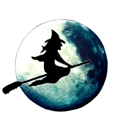 Witch In The Moon PSD