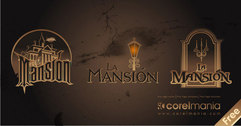 Beautiful Logos - La Mansion - The Mansion