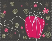 Gift Box Christmas Cute Illustration