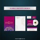 Corporate identity vector elements
