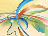 Colorful Ribbon Background Vector Free
