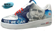 Custom Obama Nikes - PSD CUT By daillestswagg PSD
