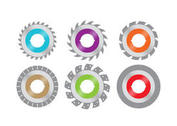 Colorful Circular Saw Blades