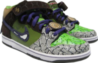 Ninja Turtle: Nike Dunks SB Donatello PSD