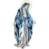 HOLY MARY VECTOR IMAGE.eps