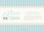 Free Vector Save The Date Invitation
