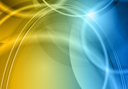 Colorful halo background 05