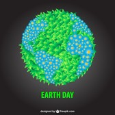Free Earth Day illustration