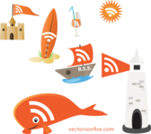 RSS At Sea (7 RSS Icons)