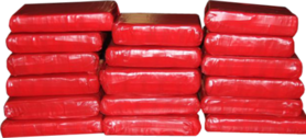 Red Cocaine Bricks (241 Design) PSD