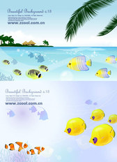 Tropical Fish Theme