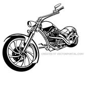 MOTORCYCLE VECTOR ILLUSTRATION.eps