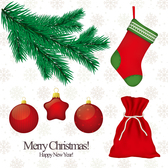 Free Collection of Christmas icons stickers