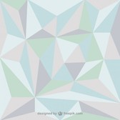 Geometric triangle vector backgrounds