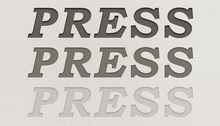 Letterpress Text Styles ASL and PSD