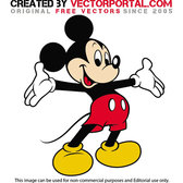 MICKEY MOUSE VECTOR GRAPHICS.eps