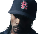 Krayzie Bone - Blue Fitted PSD