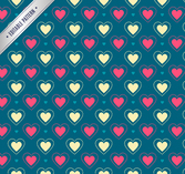 Color love seamless background