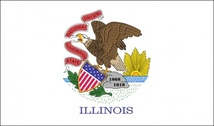 Us Illinois Flag