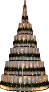 Champagne tower PSD