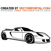 PORSCHE CAR VECTOR IMAGE.eps