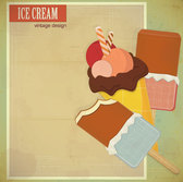 Retro cartoon ice cream 02