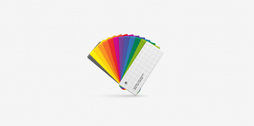 White RGB Printing Color Swatch (VECTOR)