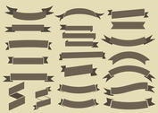 Free Ribbons Vector Collection