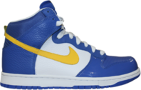 blue and yellow dunks PSD