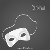 Carnival mask vector free download