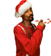 Snoop Dogg Christmas Outfit PSD