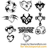 HEARTS VECTOR PACK.eps