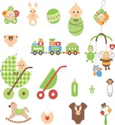 Cute Newborn Elements