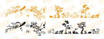 Lovely Animal And Plant Material