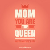 Mother's day queen style card