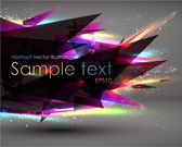 Abstract Sharp Triange Background